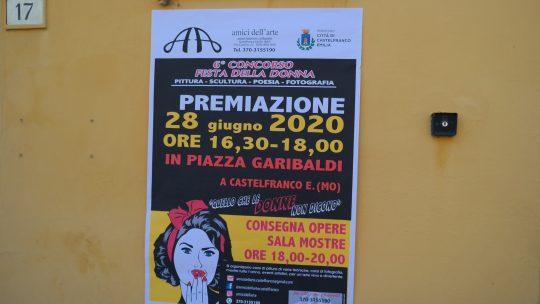 Quello che le donne non dicono – Castelfranco Emilia. Premiazioni.